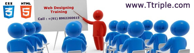Website Designing course in Bhopal at Ttriple