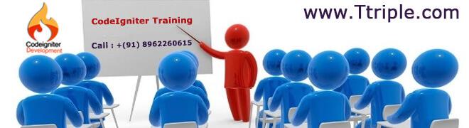 Codeigniter Training in Bhopal at Ttriple
